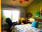 Second Bedroom w Desk, Massage Chair
