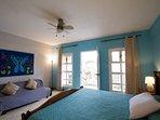 Master Bedroom with Balcony WalkOut Overlooking Pool