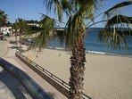 Beach at L'Ametlla de mar 20 minutes by car