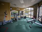Exercise Room at Clubhouse