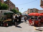 Saturday market in El Perello