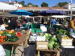 Local Market, 2 minutes walk from apartment