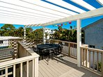 Elevated Deck for Outdoor Dining
