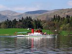 Lady of the Lake historic steamer on Ullswater