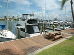 Bayside dock area