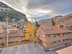 Enjoy panoramic mountain views from everywhere around the complex.