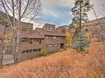 Surrounded by picturesque scenery and breathtaking views, this condo guarantees a peaceful mountain getaway.