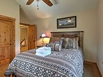 Every bedroom features a ceiling fan.