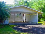 A carport protects your vehicle