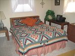 Second bedroom with king size mattress