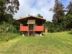Hale La (house of the sun). solar and off the grid. 4wd only .. private at top of macnut field.
