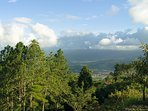 Enjoy the awesome view of Turrialba´s Valley