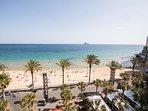 Playa del Levante (vista desde el apartamento).