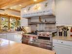 Gold Flake Chalet Kitchen Breckenridge Lodging Vacation Rental