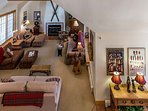 Gold Flake Chalet Great Room Breckenridge Lodging Vacation Renta