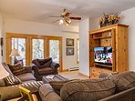 Gold Flake Chalet Family Room Breckenridge Lodging Vacation Rent