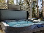 Gold Flake Chalet Hot Tub Breckenridge Lodging Vacation Rental