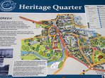Map of Heritage Quater