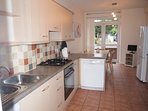 Fully fitted kitchen/dining area