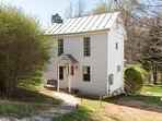 Batesville Creek Cottage. Private creek-side cottage is steps from the historic area.