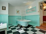 First Floor Bathroom with Victorian Cast Iron Bath