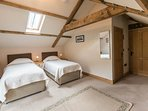 First floor superking size double or twin bedded room
