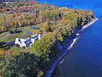 Offering a private location on 7 acres of land and over 600 feet of direct Lake Champlain frontage, you're guaranteed a...