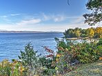Enjoy the best of South Hero with this gorgeous vacation rental home on Lake Champlain.