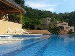 Beautiful outdoor swuimming pool