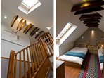 Stair & Top twin Bedroom