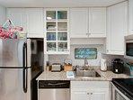 Kitchen includes, crock pot, panini press, blender, Keurig and more!