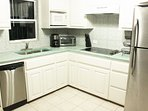 Brand new, fully equipped kitchen.