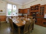 Large breakfasting kitchen