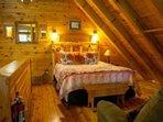 Loft queen bed b