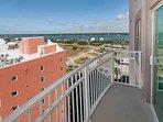 Wrap around balcony with views of the lagoon