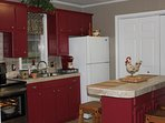 Enjoy our newly remodeled kitchen with all new appliances.