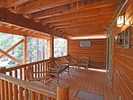 Second deck, situated under a roof so you can enjoy in the summer and winter