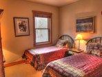Third Bedroom - Third bedroom has 2 new twin size beds.