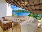 Ocean Front Mediterranean Villa with Private Dock