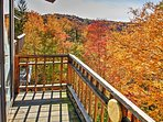 Experience natural beauty every season of the year at this lovely Killington vacation rental townhouse!