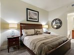 BR #2 with king bed and private bath