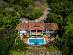 drone view of Casa Do Re Mi
