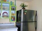 Stainless Refrigerator/ freezer