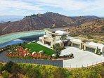 Spectacular, 300-degree, panoramic views set atop 8 acres