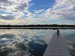 The local lake