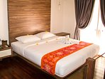 King Size bed on 1st floor