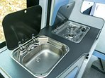 Kitchen - Sink and Stove