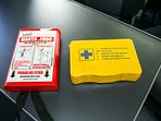 Safety - Fire Blancket and Firs Aid Kit