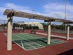 Shuffleboards& Tennis Courts