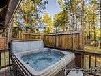 Private Hot tub.